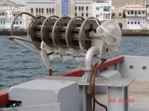 Installation of power Drum In OMAN